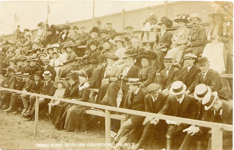 1910 - The Grandstand at Stithians Show